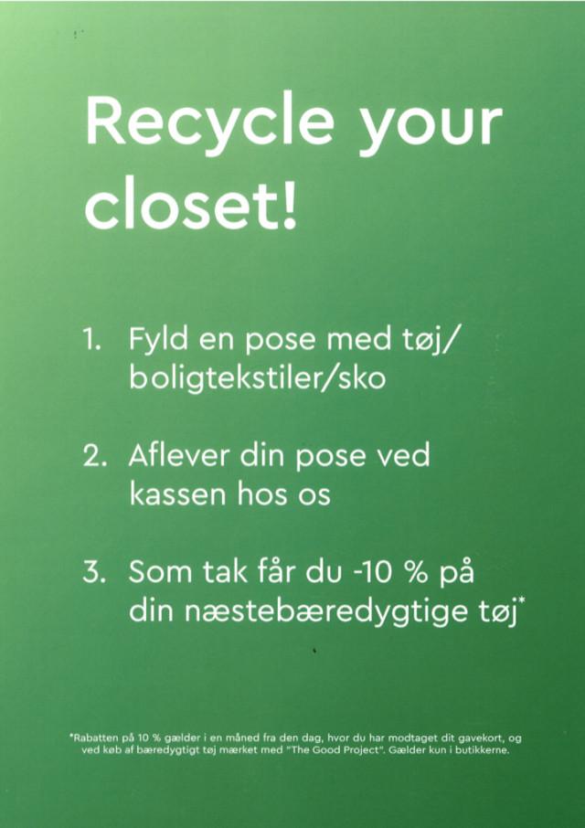 Få 10% dit næste bæredygtige tøj!