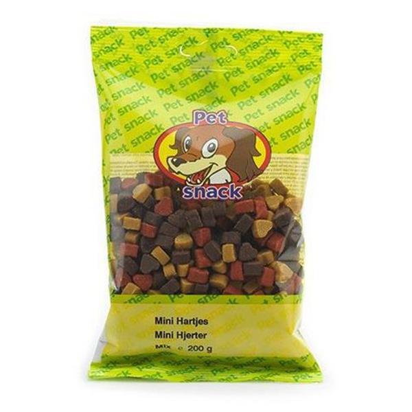 Pet Snack mini Hjerter 200g