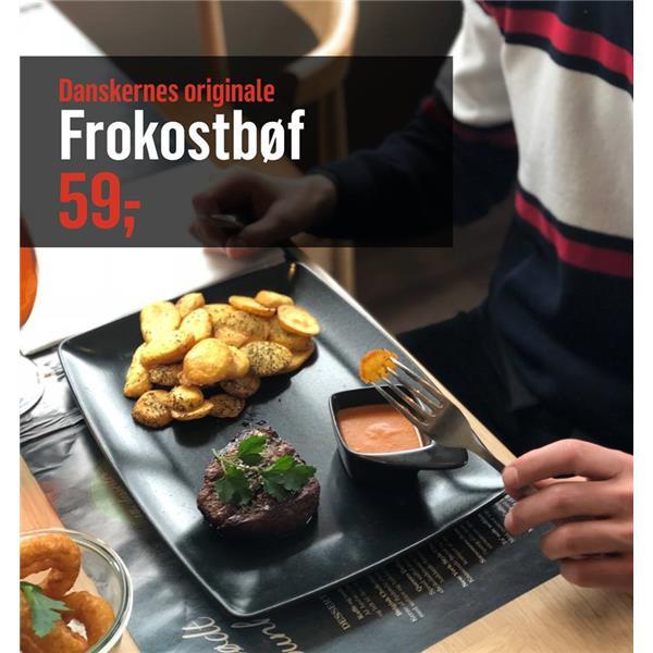 Frokostbøf til en rigtig god pris :)