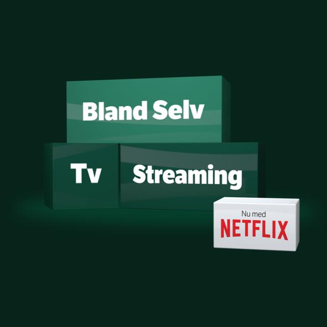 BLAND DIN EGEN TV-PAKKE