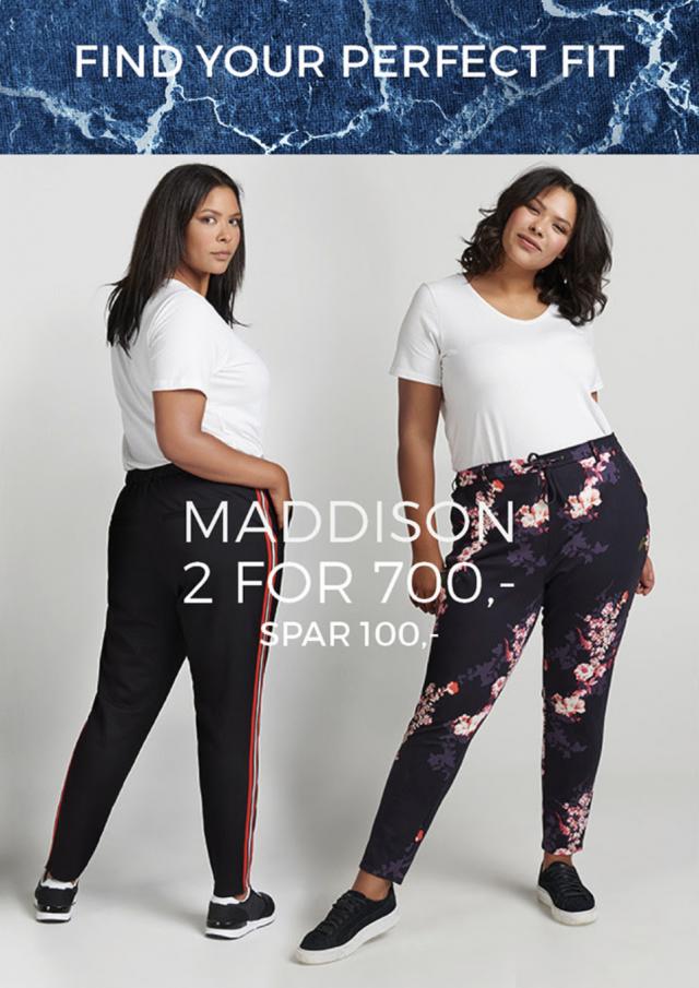 Maddison bukser i forårets farver 👌