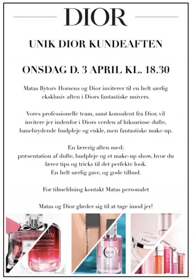 Få en unik oplevelse i Diors univers hos Matas!