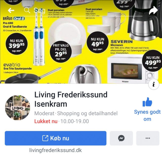 Living Frederikssund Isenkram [Facebook]