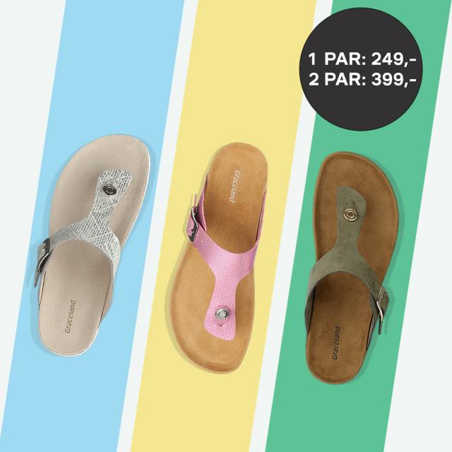 Luft tæerne i sandaler fra Deichmann 🦶🌞