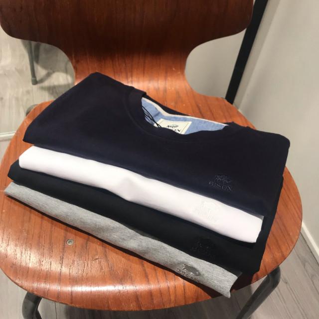 👕 Bisón T-shirts 2 stk: 300,-