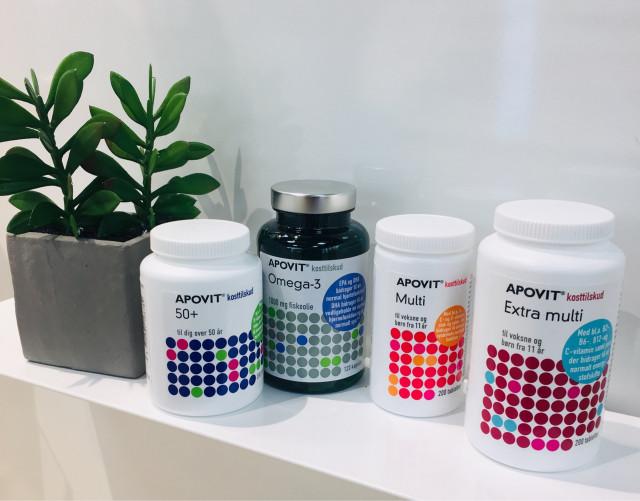 Spar 20% på udvalgt Apovit produkter