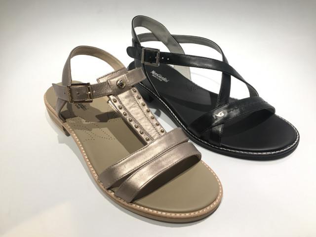 Italienske Nero Giardini sandaler til 600kr