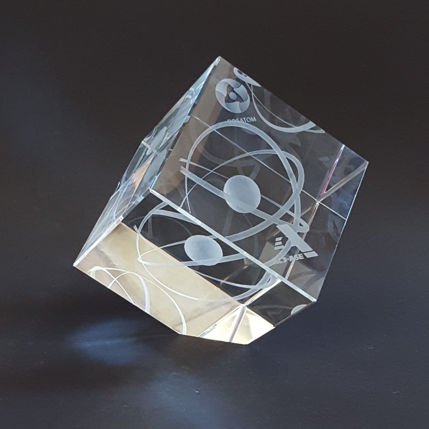 Üvegkristály 3D mintával