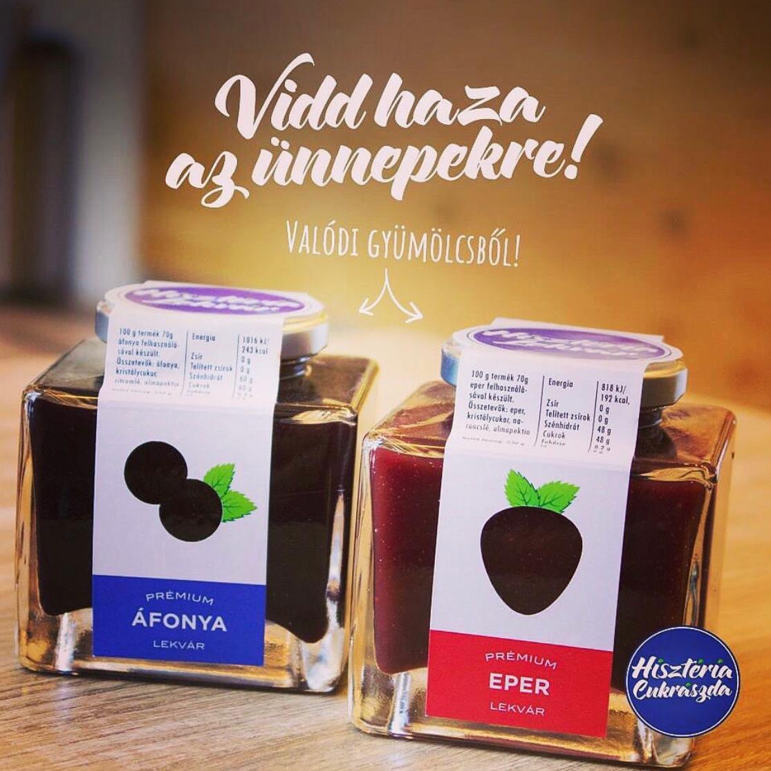 Prémium eper és áfonya