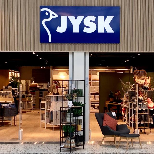 JYSK er åbnet i WAVES - Moderne boligindretning og gode tilbud